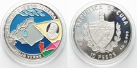 1996 Kuba KUBA 10 Pesos 1996 Jules Verne ...