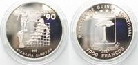 1991 Äquatorialguinea ZWITTERPRÄGUNG 7000...