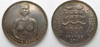 1971 Dahomey DAHOMEY 1000 Francs CFA 1971...