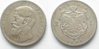 1894 Rumänien RUMÄNIEN 2 Lei 1894 CAROL I...