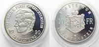 1990 Liechtenstein LIECHTENSTEIN 10 Frank...