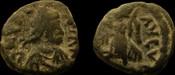 Valentinian III. 425-455 AD. AE 12 mm.