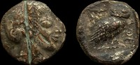 Attica, Athens Fouree Tetradrachm. 23mm...