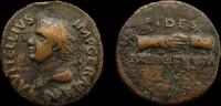 Vitellius, 69 AD. AE As. Spanish mint (...