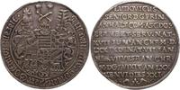 Sterbehalbtaler vom Talerstempel 1650 Anha...