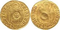 Goldgulden oJ nach  Gold 1341 Lübeck-Stadt...
