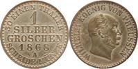1 Silbergroschen 1868 A Brandenburg-Preuße...