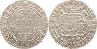 1/24 Taler 1757 Brandenburg-Preußen Friedr...