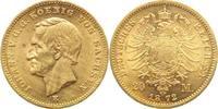 20 Mark Gold 1872  E Sachsen Johann 1854-1873. Avers berieben, sehr sch... 475,00 EUR kostenloser Versand