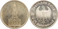5 Mark 1934  E Drittes Reich  Winz. Kratze...