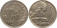100 Francs 1958 Frankreich Vierte Republik...