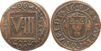 VIII Pfennig 1691 Coesfeld  Sehr schön
