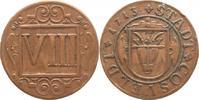 VIII Pfennig 1713 Coesfeld  Winz. Randfehl...
