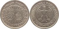 50 Pfennig 1930  E Weimarer Republik  Sehr...
