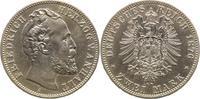 2 Mark 1876  A Anhalt Friedrich I. 1871-19...