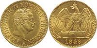 Doppelter Friedrichs d or Gold 1848  A Bra...