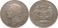 Ausbeutetaler 1859  F Sachsen-Albertinisch...