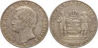 Ausbeutetaler 1860  B Sachsen-Albertinisch...