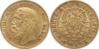 10 Mark Gold 1876  G Baden Friedrich I. 18...