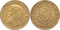 10 Mark Gold 1878  G Baden Friedrich I. 18...