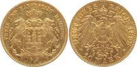 10 Mark Gold 1898  J Hamburg  sehr schön-v...