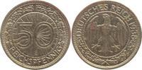 50 Pfennig 1938  E Weimarer Republik  Sehr...