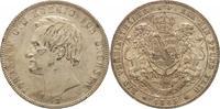 Vereinstaler 1865  B Sachsen-Albertinische...