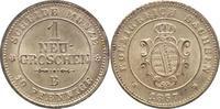 1 Neugroschen 1867  B Sachsen-Albertinisch...