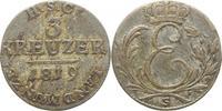 3 Kreuzer 1819  S Sachsen-Coburg-Saalfeld ...