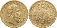 20 Mark Gold 1873  F Württemberg Karl 1864-1891. gutes sehr schön  350,00 EUR  +  5,00 EUR shipping