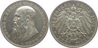 3 Mark 1908 Sachsen-Meiningen Georg II. 1866-1914. Winz. Kratzer, vorzü... 245,00 EUR  +  5,00 EUR shipping