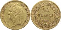 20 Francs Gold 1831  A Frankreich Louis Philippe I. 1830-1848. sehr sch... 240,00 EUR  +  5,00 EUR shipping