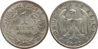 1 Reichsmark 1925  J Weimarer Republik  Sehr schön  13,00 EUR  +  5,00 EUR shipping