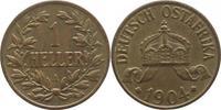 1 Heller 1904  A Deutsch Ostafrika  Fast vorzüglich  10,00 EUR  +  5,00 EUR shipping