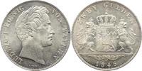 Doppelgulden 1846 Bayern Ludwig I. 1825-1848. Ganz winz. Kratzer, vorzü... 225,00 EUR  +  5,00 EUR shipping