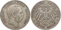 5 Mark 1898  E Sachsen Albert 1873-1902. Sehr schön  65,00 EUR kostenloser Versand