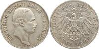 5 Mark 1907  E Sachsen Friedrich August III. 1904-1918. Winz. Randfehle... 60,00 EUR kostenloser Versand