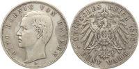5 Mark 1898  D Bayern Otto 1886-1913. Sehr...