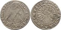 3 Kreuzer 1660  E Schlesien-Liegnitz-Brieg...
