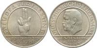 3 Mark 1929  D Weimarer Republik  Winz. Ra...