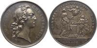 Silbermedaille 1745 Sachsen-Albertinische ...
