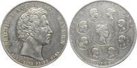 Geschichtstaler 1828 Bayern Ludwig I. 1825...