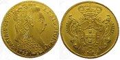 6400 Reis Gold 1793  B Brasilien Maria 1786-1805. Vorzüglich - Stempelglanz