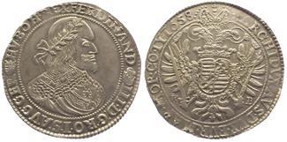 Taler 1658 Ungarn Ferdinand III. 1637-1657. Vorzüglich - Stempelglanz
