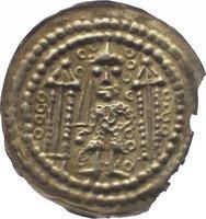 Brakteat 1130-1156 Sachsen-Meißen, markgräflich wettinische Mzst. Konrad der Große von Wettin 1130-1156. Geringfügiger Randausbruch, sehr schön - vorzüglich