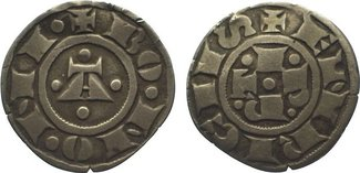 grosso  Italien-Bologna Republik 1191-1337. Sehr schön +