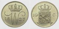 10 Cents 1827 Niederlande-Königreich Wilhe...