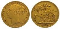 Sovereign Gold 1874  S Australien Victoria 1837-1901. Sehr schön  355,00 EUR  +  10,00 EUR shipping