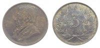 3 Pence 1896 Südafrika Südafrikanische Republik. Vorzüglich  95,00 EUR  +  10,00 EUR shipping