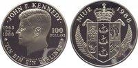 100 Dollars 1988 Niue Unter Verwaltung Neu...
